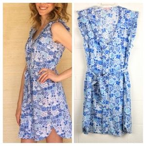 Kaycee Hughes Willa Floral Button Front Dress
